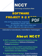 NCCT - Software Projects Intro & Presentation