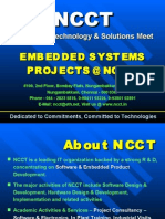 NCCT - Embedded Projects Intro & Presentation