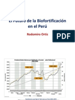 El Futuro de la Biofortificación en el Perú