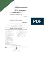Brief in Opposition, Ilagan v. Ungacta, No. 12-723 (Mar. 13, 2013)