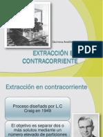 Extraccion en Contracorriente