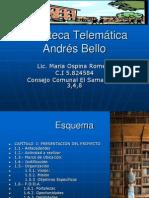 Biblioteca Telemática Andrés Bello 1