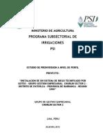 Perfil PSI