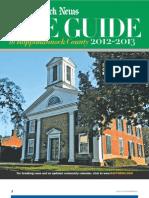 Rappahannock News Guide to Rappahannock County 2012