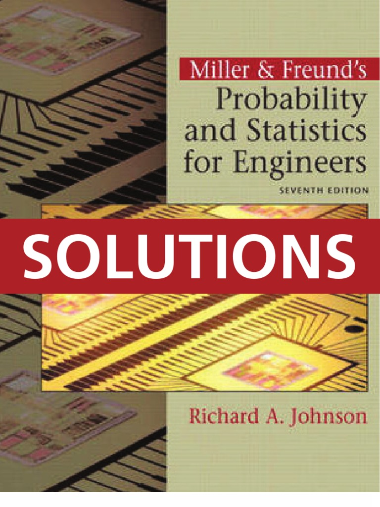 Applied statistics and probability for engineers 4th edition solutions  manual