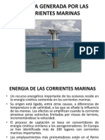 Energia Corrientes Marinas