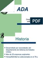 ADA Presentacion