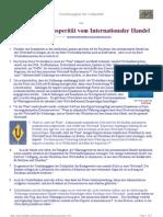 Unabhängigkeit der Geldpolitik -oder -Ausschließen Prosperität vom Internationaler Handel
