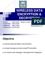 WIRELESS DATA ENCRYPTION & DECRYPTION PPT'S BY G.AJAY KUMAR