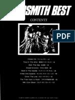 Aerosmith - Best (Japan Score)