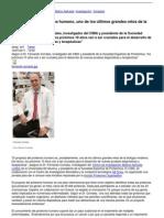 Noticias Universidad de Navarra - El Proyecto Del Proteoma Humano Uno de Los Ltimos Grandes Retos de La Biologa Moderna - 2011-07-19
