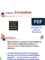 Back Formation.pptx