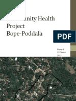 Community Health Project