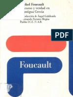 Foucault, M. - Discurso y Verdad en La Antigua Grecia [1983]