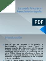 La lirica delRenacimiento en España