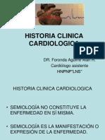 Clase Historia Clinica Semiologia Cardiovascular