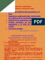 Organismos reguladores DIAPOSITIVAS