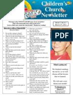 Newsletter 3-17-12