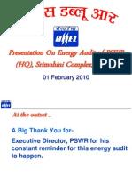 Final Presentation on Energy Audit