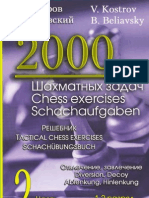 2000 Tactical Chess Exercises Vol 2 (Kostrov, B.beliavsky)