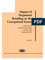 Impact of Organized Retail on Unorganized Sector in India