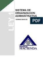 SISTEMA DE ORGANIZACIÓN ADMINISTRATIVA