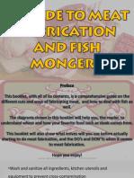 Sample Butcher and Fishmonger's Guide