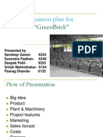 Business Plan Green Brick