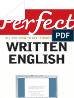 Perfect Written English