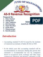 Revenue Reognition