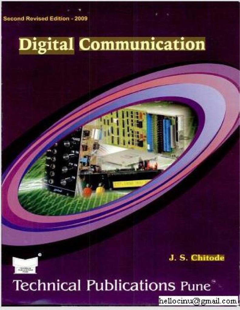 Digital Communications By J S Chitode Pdf