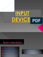 Input Devices 1