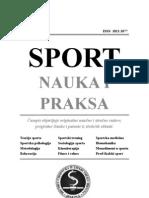 SPORT - Nauka i Praksa - Vol2 No4