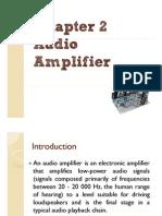 Chapter 6 - Audio Amplifier