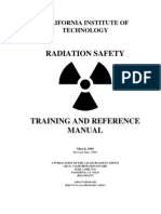 Radiation Safety Training Manual