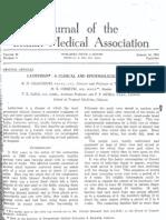 Lathyrism Clinical Epidemiological Chaudhuri Et Al 1963 Par Miles