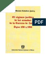 El Regimen Juridico de Las Armadas de La Carrera de Indias