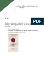 Top 101 de Carti Pe Care Ar Trebui Sa Le Cititi