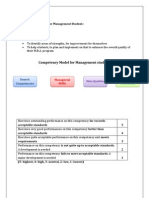 Competency Mapping for Management Student