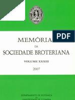 Memorias Soc Broteriana 33