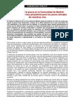 Comunicado Sueltas de Truchas en Madrid Marzo 2013.Doc