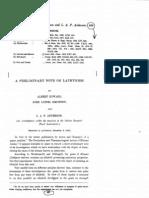 Lathyrism India Howard Et Al 1922