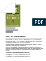 100%- The Story of a Patriot