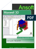 Ansoft Maxwell 3D v11 Userguide