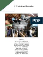 MT5003 - Crowd Management System Report