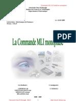Commande MLI de l Onduleur Monophase