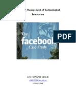 MT5007 - The Facebook Case Study