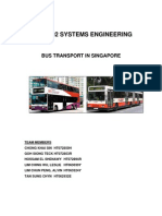 SDM5002 - Bus Transport in Singapore Report