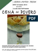 2013.03.23 - Cena Del Povero