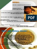 History of Herbal Medicines